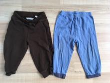 2 kalhoty, tepláky (hmko, george), h&m,86
