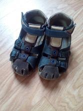 Sandálky modro-hnědé, essi,25