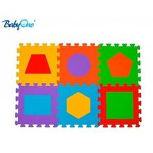 Pěnové puzzle baby ono - tvary - 6 ks,