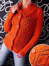 Kvalitní propínací svetr - více barev, l / m / s