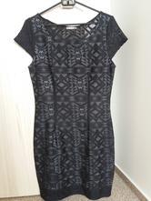 Krajkové šaty s podšívkou, orsay,36