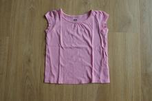 Růžové triko, h&m,92