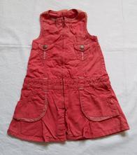 C82dívčí šaty / šatovka vel. 74-80, marks & spencer,74