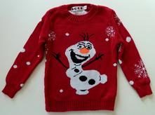 Olaf obrázkový svetr vel. 128, 128