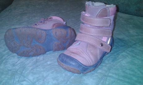 Zimní boty - kozačky, bartek,22