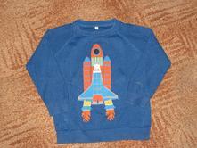Chlapecký svetr s raketou vel. 104, marks & spencer,104