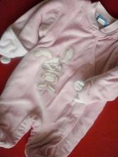 Jarní - přechodová vyteplená kombinezka, baby,68