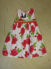 12/4     nové šaty early days vel. 80/86, early days,80