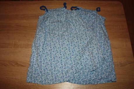 2x letní šaty, 110