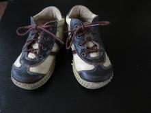 Celoroční béžovo-hnědé kožené boty, pegres,21