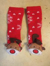 1722/39     nové teplé vánoční ponožky 21/22/23,
