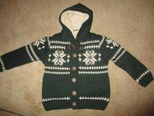 Zimní svetr s kožíškem, 116