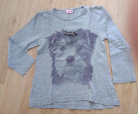 E168 - šedé tričko se psem, cherokee,104