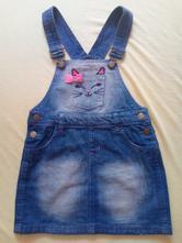 Laclová džínová sukně, vel. 128, 128