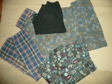 Pyžamo kalhoty 4ks vel 13 let fotbal kostka, f&f,152