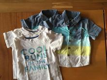 2x košile s tričkem, vel. 80/86, 80