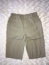 Béžové plátěné kalhoty next, next,68