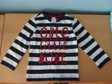 Nové tričko s dlouhým rukávem, c&a,86