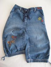 Riflové/džínové 3/4 kalhoty, next,98
