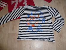 Pruhaté tričko, lindex,122