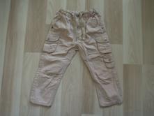 Plátěné kalhoty úzké hm vel. 92, h&m,92