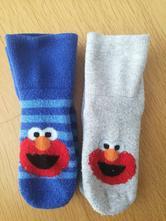 Set 2 ks teplejší ponožky motiv elmo, hm, 19-22, h&m,19