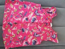 Motýlkové letní triko, h&m,116