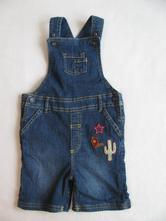 Džínové kalhoty s laclem-m&s, marks & spencer,92