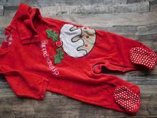 Vánoční sametový overál s protiskluzem, cherokee,86
