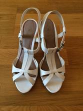 Bílé páskové boty, humanic,41