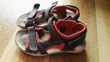 Sandále kožené humanic, humanic,35