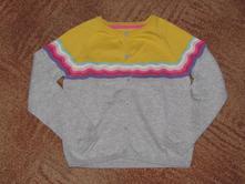Barevný svetřík pro holčičku vel. 116, marks & spencer,116