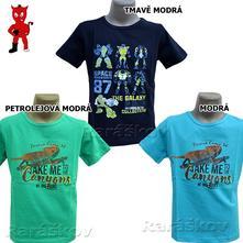 Super triko s leguánem nebo robotem, wolf vyprodej, wolf,98 / 104 / 110 / 116 / 122