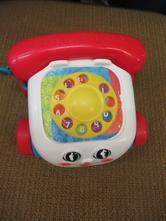 N1722a/1    auto telefon fisher price 15 x 15 cm,,