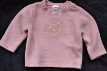 Dívčí svetr na 3-6měs., ladybird,74