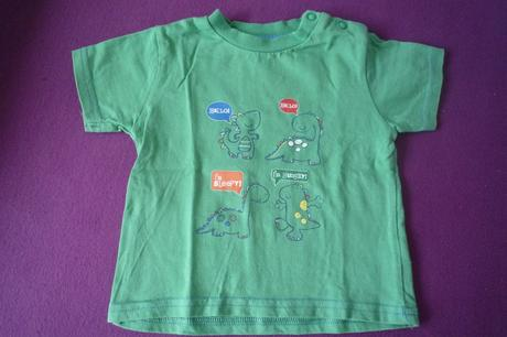 Tričko s dinosaury 62/68, tu,68