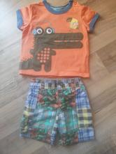 Luxusní triko a kraťásky, marks & spencer,68
