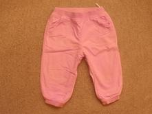 Plátěné kalhoty, baby club,80