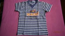 Tričko pro malého hasiče vel.122, 122