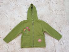 Zelená mikina s kapucou, marks & spencer,104