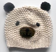 Čepice medvídek, f&f,74