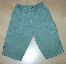 Khaki kalhoty kapsáče roll up, podšité, cherokee,68