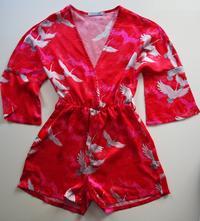 Pyžamový overal, saténové pyžamo, 38
