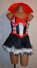 Kostým šaty srdcová dáma, leg avenue, vel. m., m
