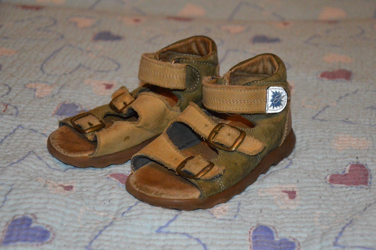 Zdravotní sandálky 7cece55162
