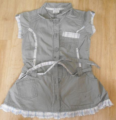 E13-plátěné šaty nebo taky tunika, cherokee,98