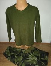 Chlapecké fleece pyžamo, primark,122