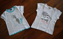 2x tričko s krátkým rukávem, lupilu,92