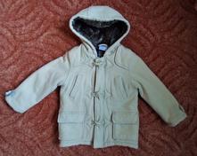 Béžový kabát kabátek bunda bundička, ladybird,104