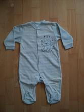 Světlemodré pyžamko s medvídkem - c&a,vel.74, c&a,74